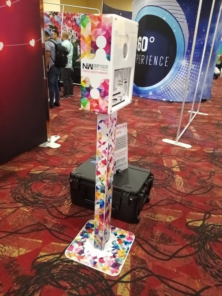#4 Booth Branding wrap