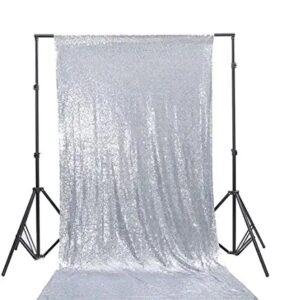 #4 Silver Sequin Backdrop